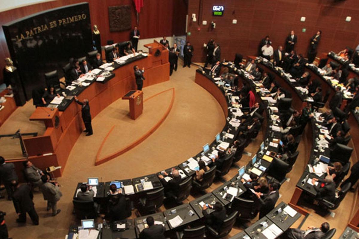 21023255. México, D.F.- Con 67 votos en favor y 61 en contra, el Senado aprobó modificar el Artículo 371 del dictamen de la reforma laboral para que la elección de las dirigencias de los sindicatos se realice mediante voto libre, directo y secreto. NOTIMEX/FOTO/PEDRO SANCHEZ/PSM/POL/