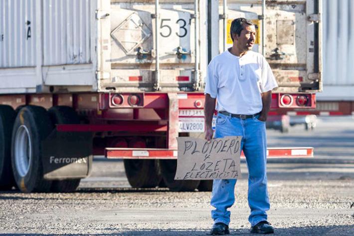 Tijuana, Baja California, 28 de febrero de 2019. Aspectos de trabajadores independientes (desempleo). Foto: Alejandro Gutiérrez Mora / ZETA